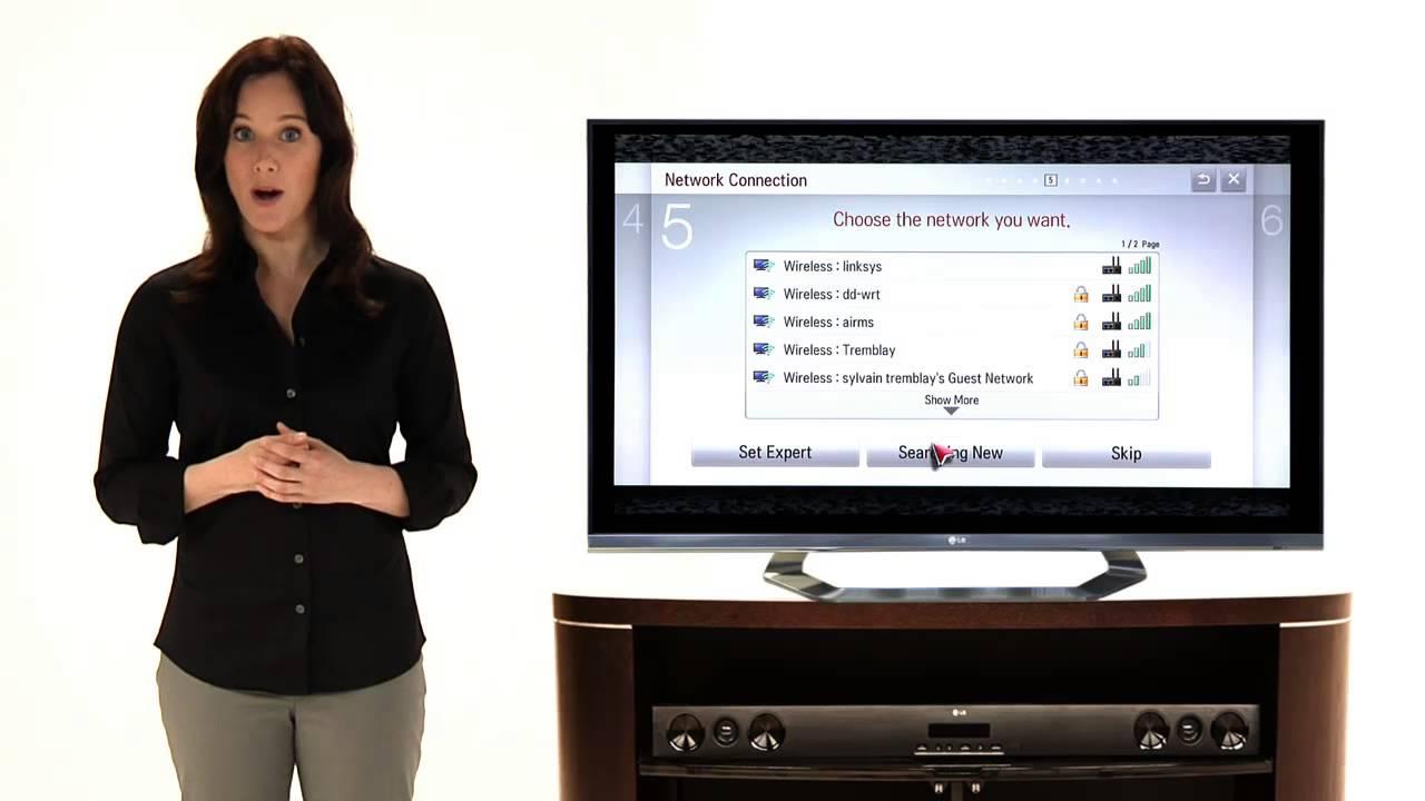 lg smart tv setup wizard youtube. Black Bedroom Furniture Sets. Home Design Ideas