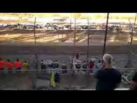 Jenny Sings Star Spangled Banner at Santa Maria Speedway