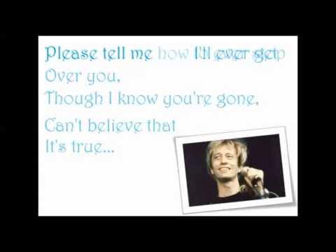 Please - Robin Gibb Karaoke
