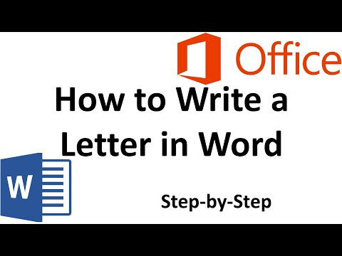 How to Write a Letter | Microsoft Office Word 2010 How-To