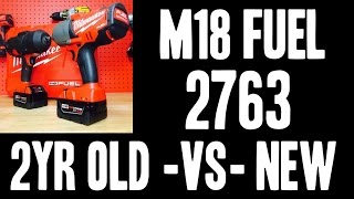 OLD -vs- NEW (Milwaukee M18 FUEL 2763) Do they lose power?