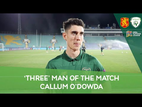 POST-MATCH INTERVIEW | Callum O'Dowda | The 'Three' MOTM for the 1-1 draw against Bulgaria