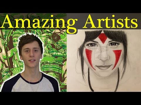 Amazing DeviantART Artists [Deviant-Hunting Ep.1]