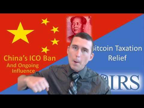 China: Crypto on Edge   USA: Bitcoin Taxation Shield + News Recap