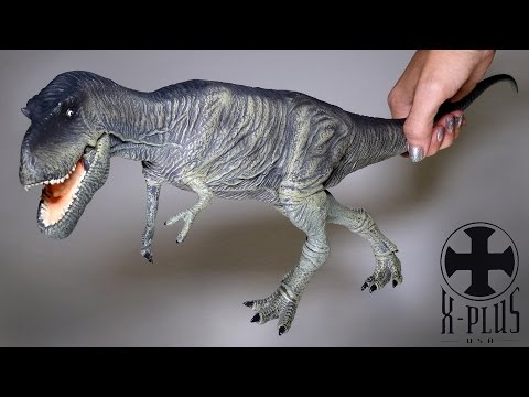 "Opening: X-Plus ALBERTOSAURUS 20"" Dinosaur Figure"