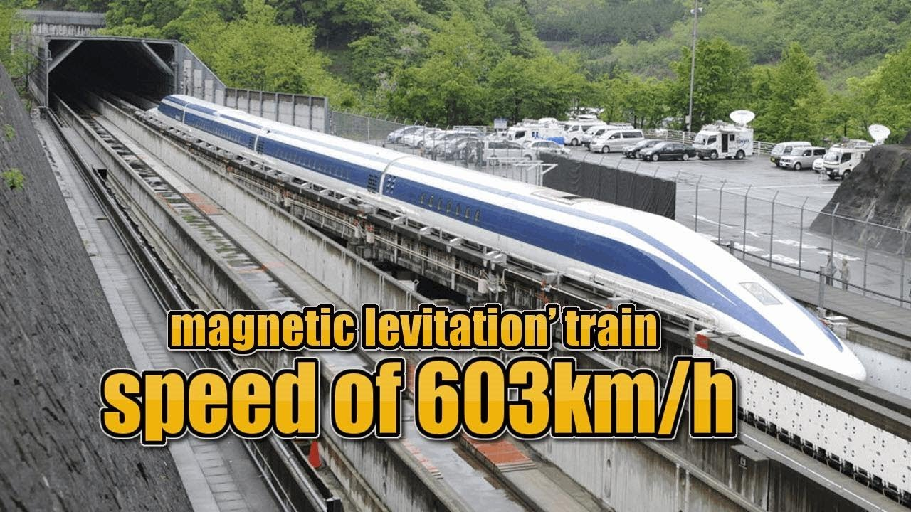 Download The world's Fastest  Maglev Train,Japan