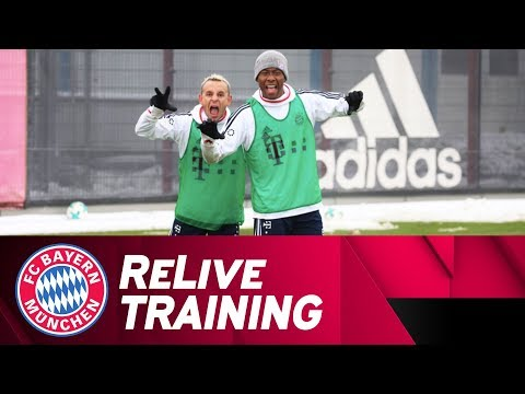 FC Bayern Training after Home Win vs. Bremen 🇩🇪 | ReLive