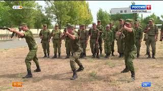 В Волгограде контрактники продемонстрировали владение основами общевойсковой подготовки