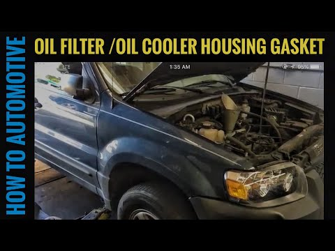How To Change The Oil Filter Housing And Oil Cooler Gaskets
