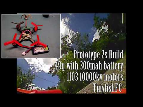 2s brushless - fast and tiny!