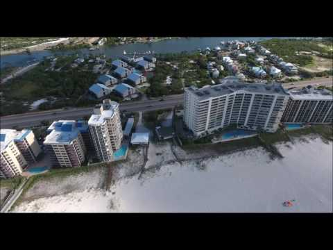 Admiral's Quarters Condo Aerial Video | Orange Beach AL