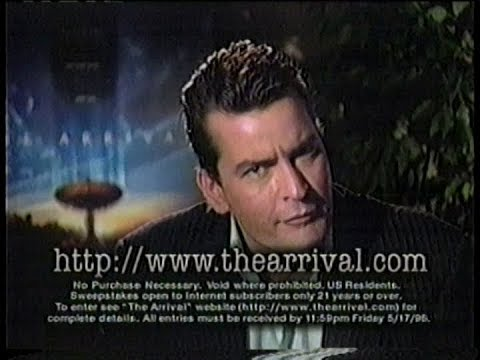 The Arrival - Charlie Sheen Fox bumper (1996)