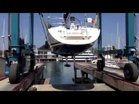 Jeanneau 36i Sailboat Haul Out for Survey & Hull Design Video By: Ian Van Tuyl