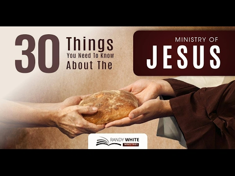 30 Things You Need to Know About The Ministry of Jesus: #1 – His Baptism