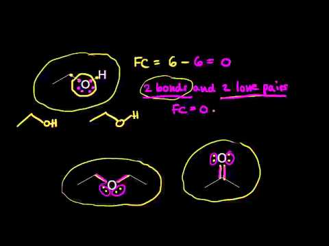 Formal charge on oxygen | Resonance and acid-base chemistry | Organic chemistry | Khan Academy