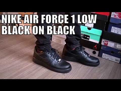 Nike Air Force Low Black Outfit