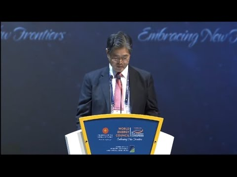 Younghoon David Kim, Chair World Energy Council /Day1_ World Energy Congress 2016