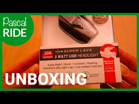 INFINI SUPER LAVA I 263P Headlight I UNBOXING