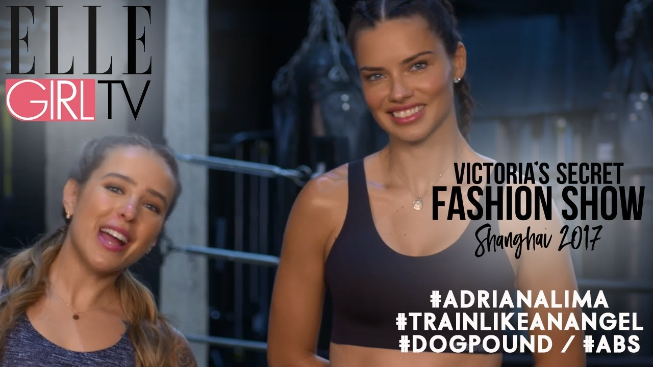 ca7f8549df Victoria s Secret 2017 I Train Like An Angel   ADRIANA LIMA + DOGPOUND -  Squat