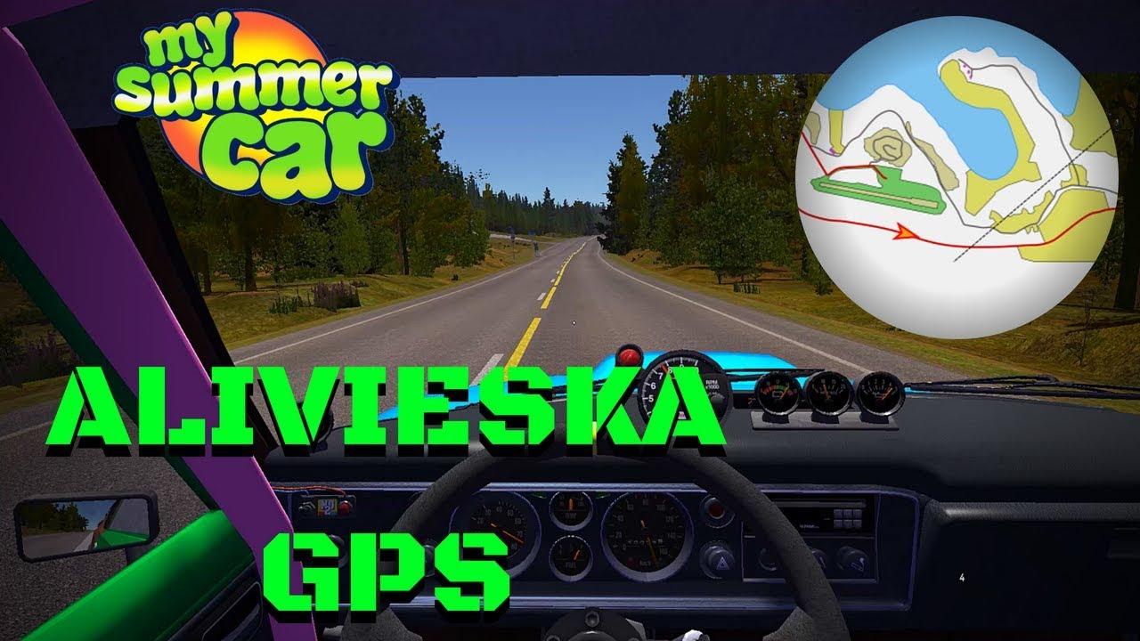 Alivieska GPS - My Summer Car #100 (Mod)