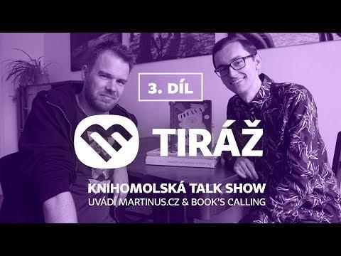 Tiráž: Knihomolská talk show - Nejen o ilustracích s Davidem Böhmem