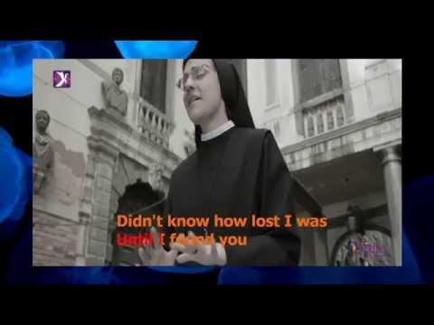 """""""Like a Virgin"""" - KARAOKE - Sister Cristina"""