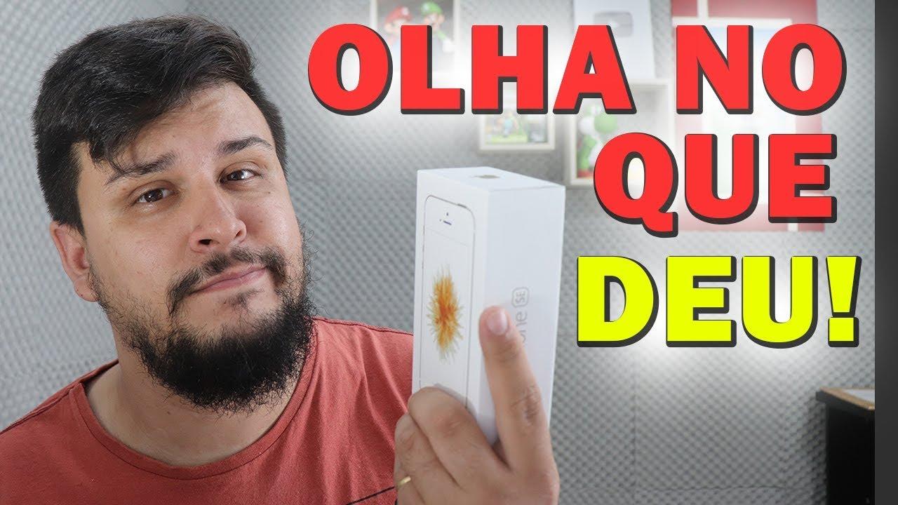 Comprei um iPhone no AliExpress e OLHA NO QUE DEU