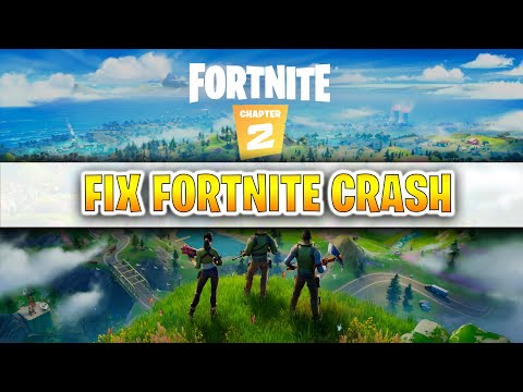 FIX FORTNITE CRASH SEASON 11 ( FIX FORTNITE CRASHING ERROR CHAPTER 2 )