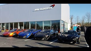 ARRIVALS !!! SuperCars On Sunday -Hosted By McLaren Philadelphia - March/18/18