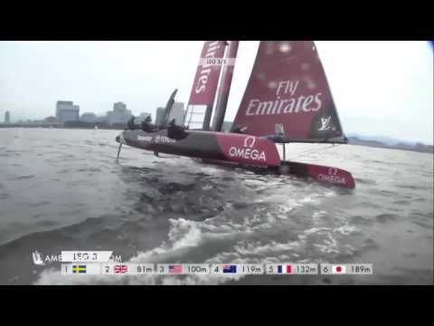 America's Cup World Series Fukuoka Race 5 Penalties