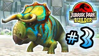 Jurassic Park Builder: GLACIER Tournament: Part 3 Nasutoceratops HD