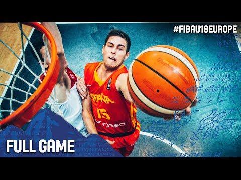 Turkey v Spain - Live - Semi-Final - FIBA U18 European Championship 2017