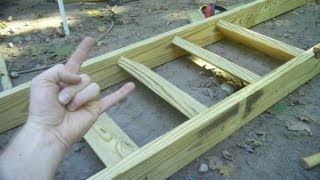 Deek's SIMPLE Stair Building Trick for Tiny House Lofts, Decks, Cabins...