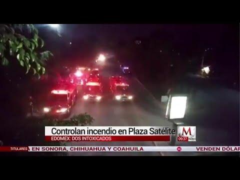 Incendio en bodega de Plaza Satélite