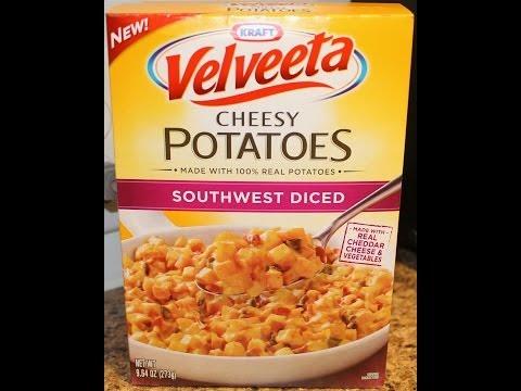 Velveeta Cheesy Potatoes: Southwest Diced Review