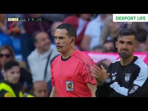 Real Madrid vs Leganes, Golos, Liga Espanhola