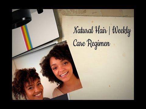 C Natural Hair Weekly Regimen