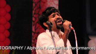 Alphons In Live Performance Of  Aromala