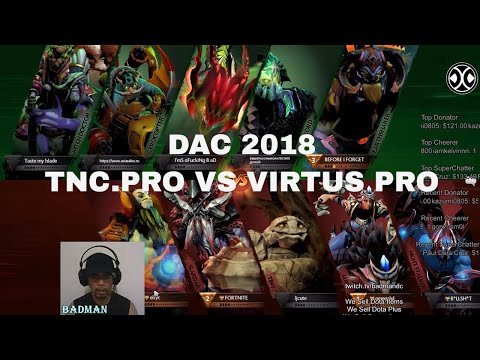[DOTA LIVE] TnC PRO VS VIRTUS.PRO |BO3| DAC 2018 MAIN EVENT | LOWER BRACKET R3 | PINOY CASTER