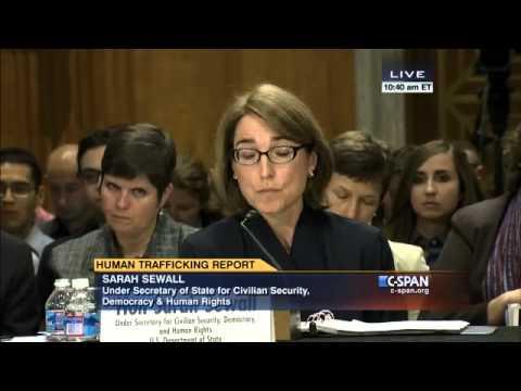 Senate Hearing 2015 Human Trafficking Report