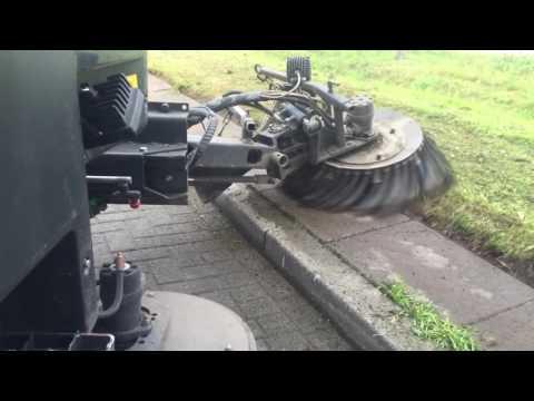 Aebi Schmidt  Kehrmaschinen ,Sweeper brush with weed