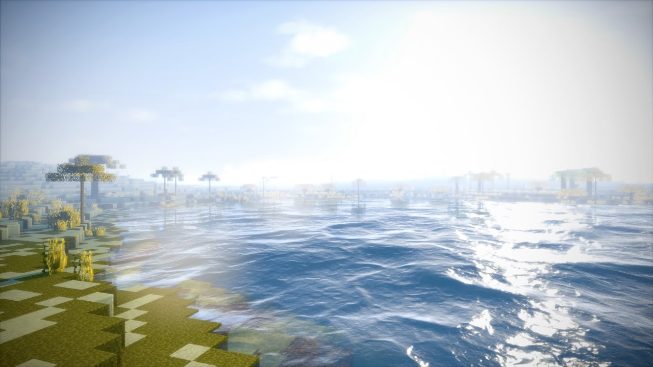 Minecraft Extreme Graphics Cinematic - Wisdom Shaders V3   4K 60fps by Past  Life Pro