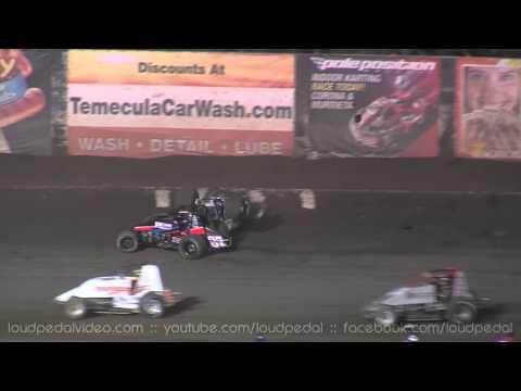 "Perris Auto Speedway 9-15-12 :: USAC/CRA Sprint Cars :: ""Glenn Howard Memorial"""