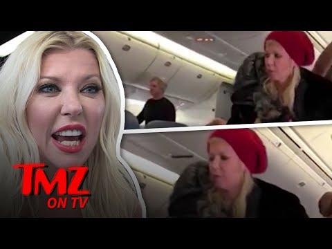 Tara Reid Kicked Off A Plane!  TMZ TV