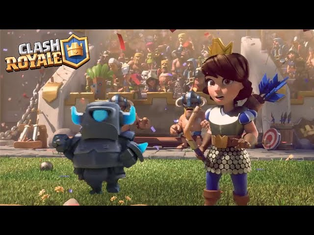 Clash Royale Movie 2019 - The Guardian Mini Pekka [Full HD] | Best Clash Commercials (Fan Edit)