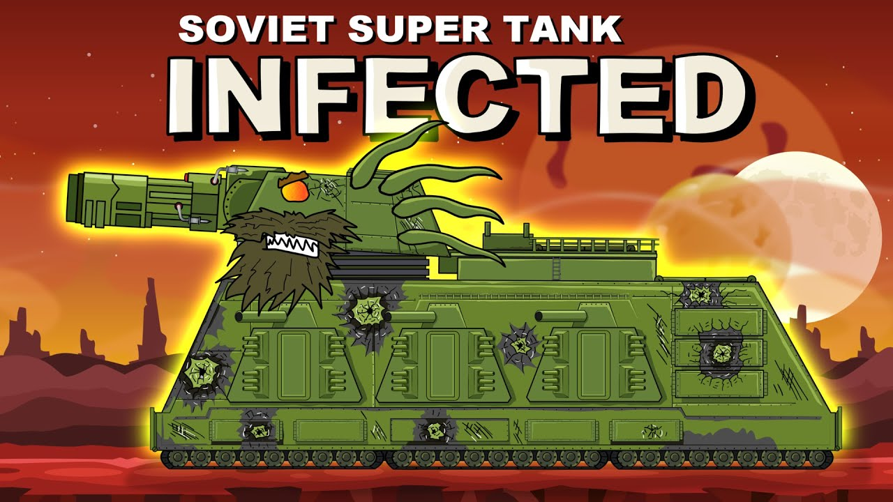 """Download """"Soviet Dorian Infected"""" Cartoons about tanks"""