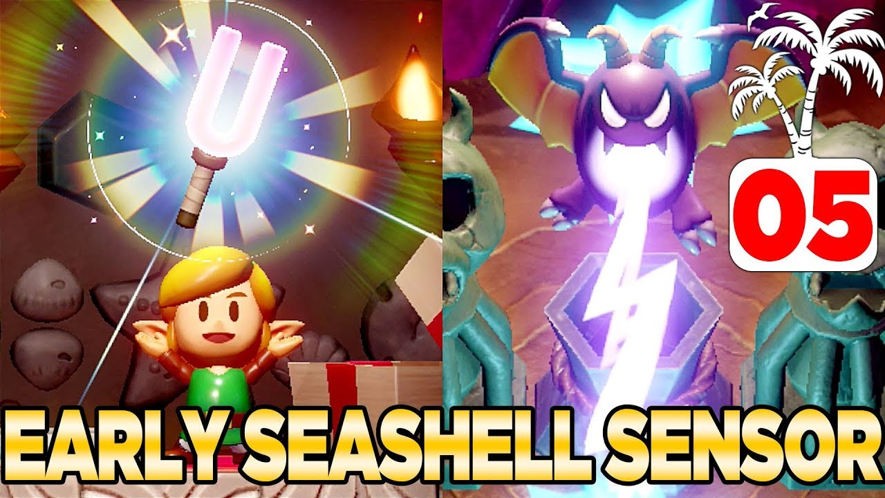 Get The Seashell Sensor Ealry Warp Points In Link S Awakening Switch 100 Walkthrough 05