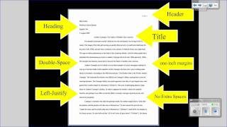 MLA Tutorial #1: Basic Paper Formatting