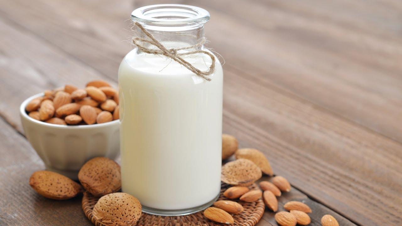 Kaip pasidaryti migdolu piena