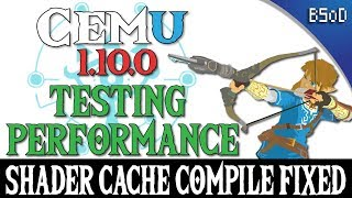 Cemu 1 11 4 | Framerate vs Resolution | BOTW Performance